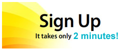 Sign Up 2 minutes